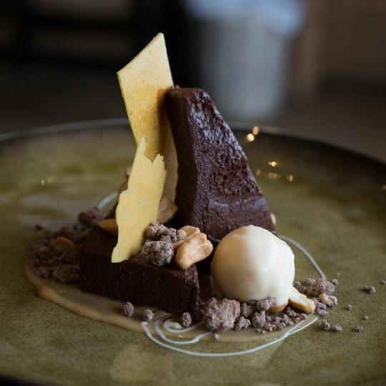Chocolate desert - Chalet Floralie