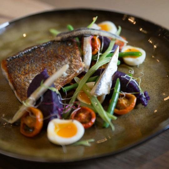 Fish dish - Chalet Floralie